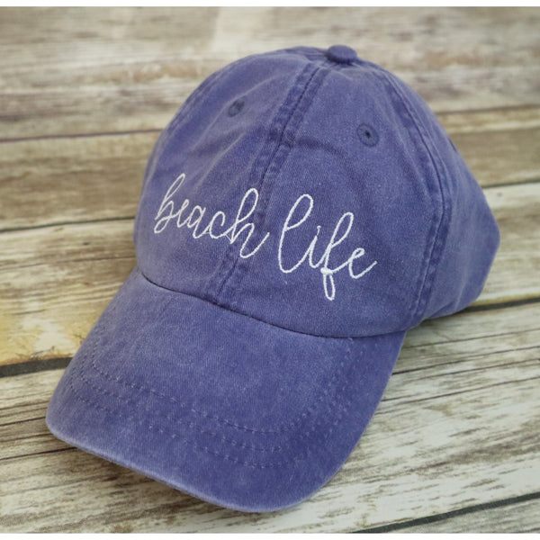 Beach Life Baseball Hat-AlfonsoDesigns