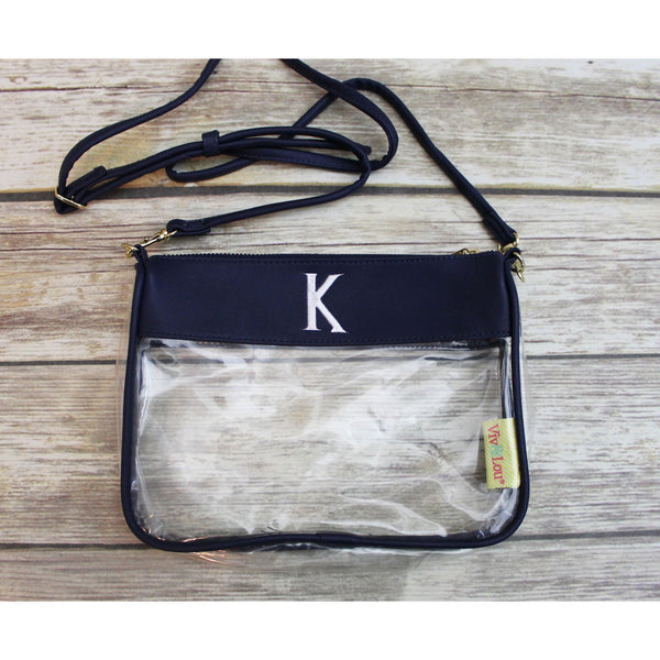 Personalized Clear Purse-AlfonsoDesigns