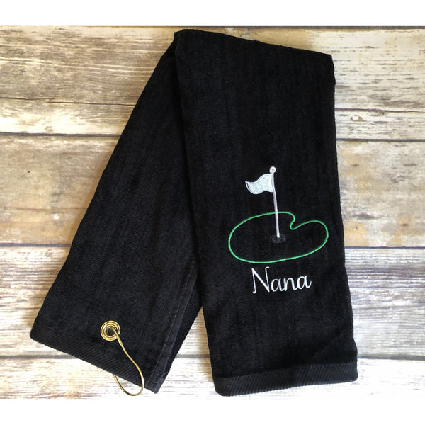 Nana Golf Towel-AlfonsoDesigns
