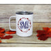 Monogrammed Fall Stainless Steel Coffee Mug-AlfonsoDesigns