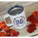 Monogrammed Fall Stainless Steel Coffee Mug