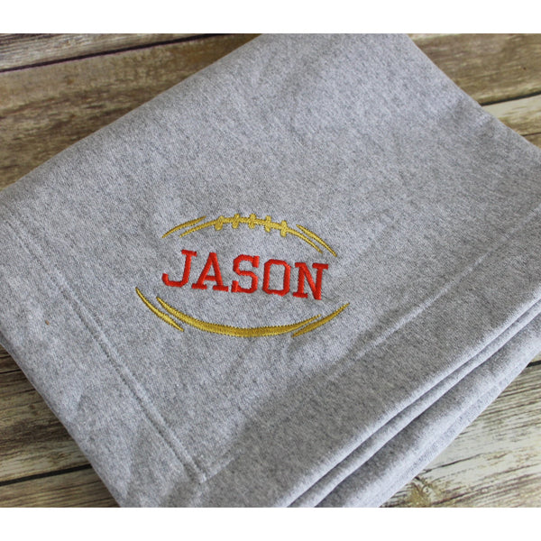 Personalized Football Stadium Blanket-AlfonsoDesigns