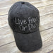 Live Free or Die Baseball Hat