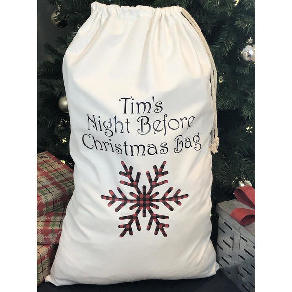 Personalized Christmas Gift Sack-AlfonsoDesigns