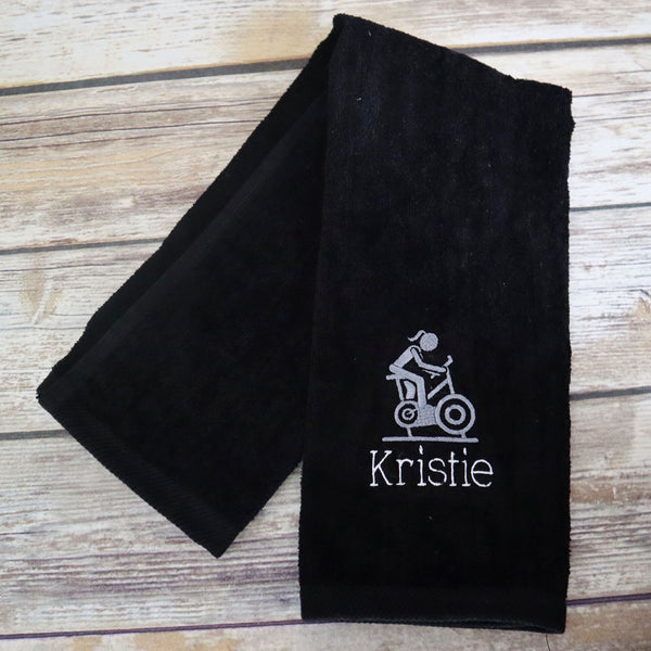 Personalized Cycling Sports Towel