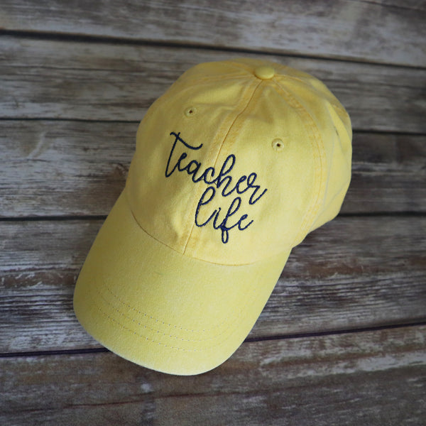 Teacher Life Baseball Hat