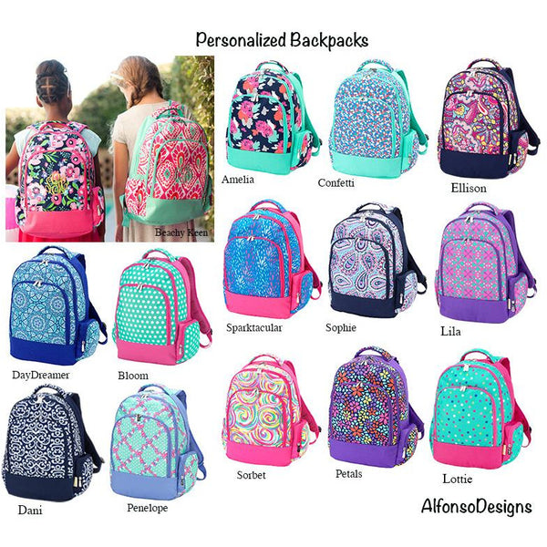 Kids Personalized Backpack-AlfonsoDesigns