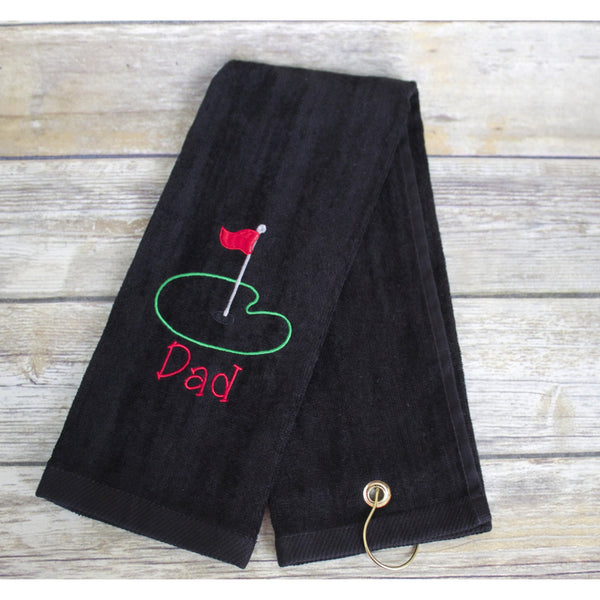 Dad Golf Towel-AlfonsoDesigns