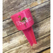 Flamingo Personalized Beach Spiker-AlfonsoDesigns