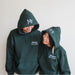 Personalized Mr & Mrs Hooded Sweatshirts-AlfonsoDesigns