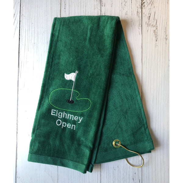 Golf Tournament Towel-AlfonsoDesigns