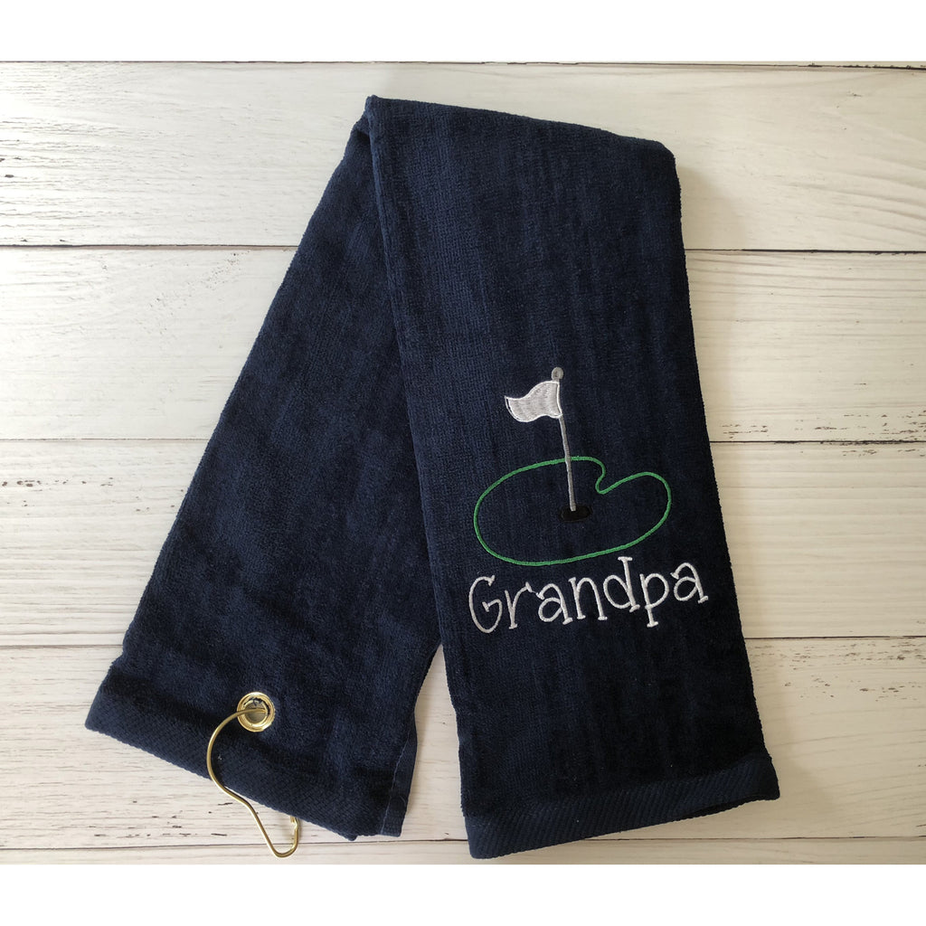 Grandpa Golf Towel-AlfonsoDesigns