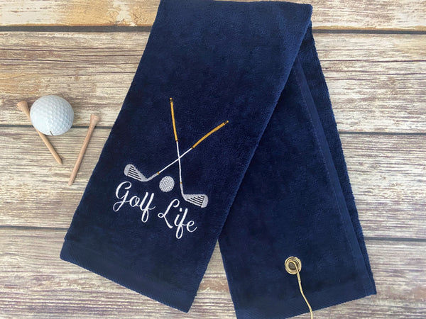 Golf Life Golf Towel