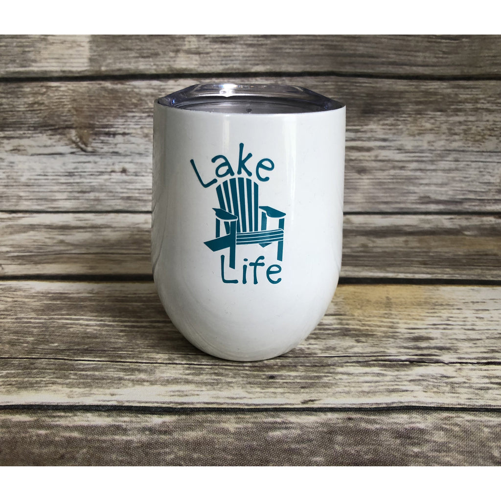 Lake Life Stainless Steel Wine Cup-AlfonsoDesigns