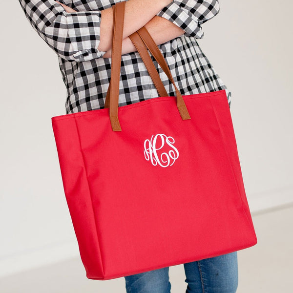 Monogrammed Game Day Tote-AlfonsoDesigns