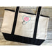 Nurses Monogrammed Tote Bag-AlfonsoDesigns