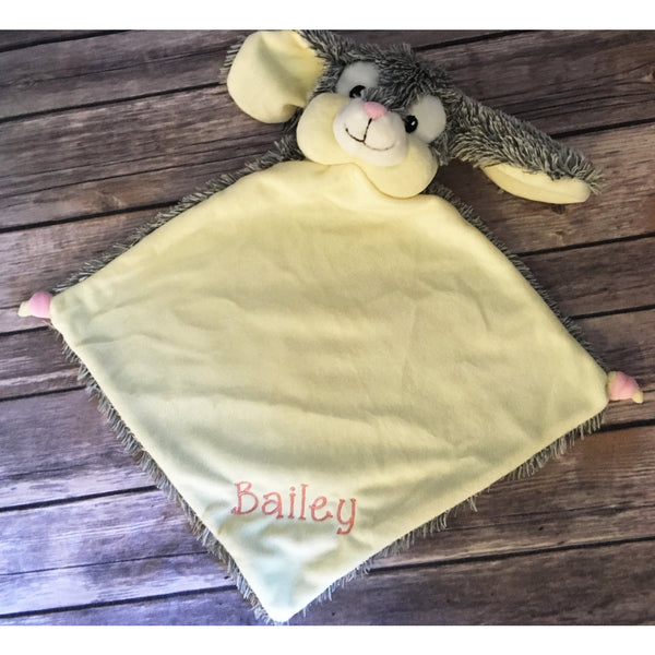 Personalized Bunny Cubbie Blanket-AlfonsoDesigns