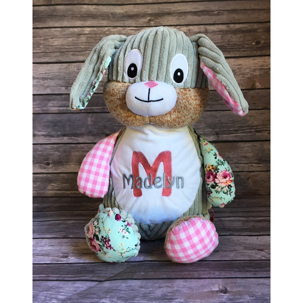 Personalized Cubbie Stuffed Animal-AlfonsoDesigns