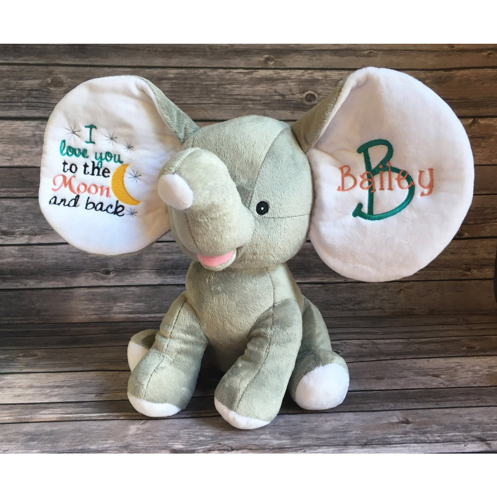 Personalized Dumble Baby Elephant-AlfonsoDesigns