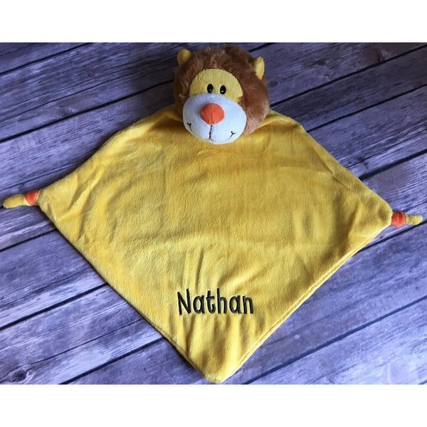 Personalized Lion Cubbie Blanket-AlfonsoDesigns
