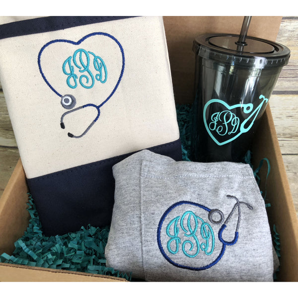 Personalized Nurse's Gift Set-AlfonsoDesigns