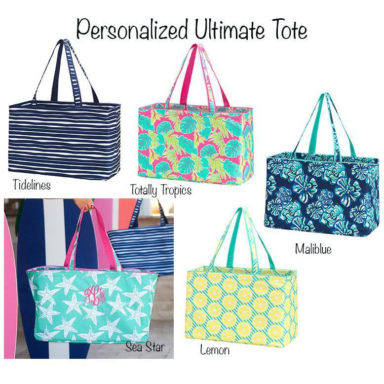 Personalized Summer Ultimate Tote-AlfonsoDesigns