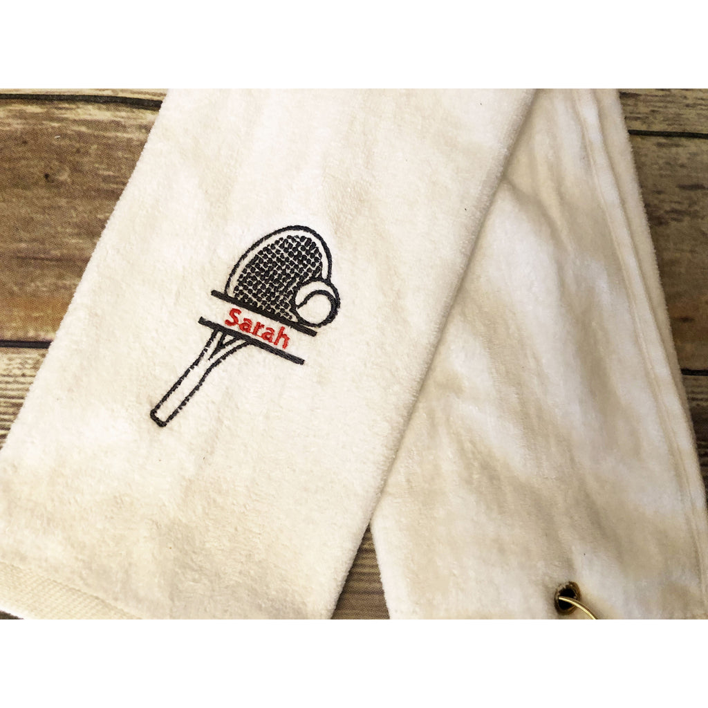 Personalized Tennis Towel-AlfonsoDesigns