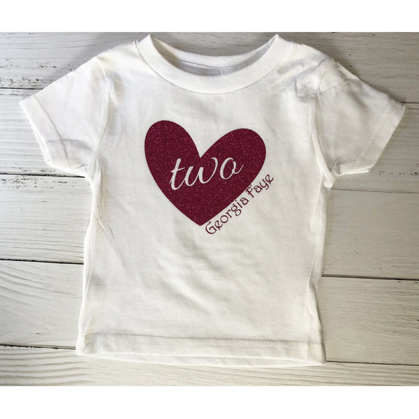 Personalized Toddler Birthday Shirt-AlfonsoDesigns