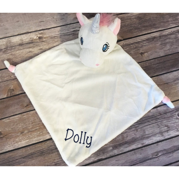 Personalized Unicorn Cubbie Blanket-AlfonsoDesigns