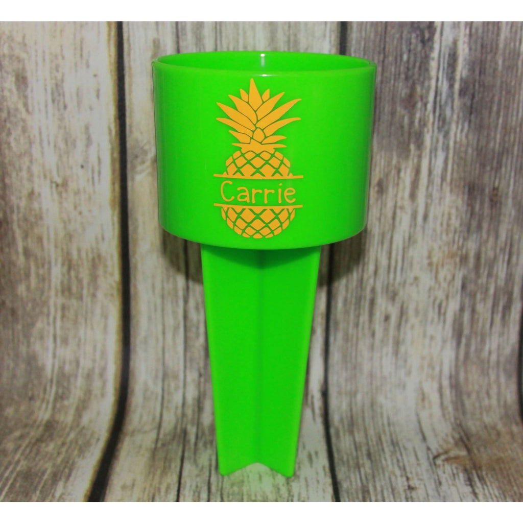 Pineapple Personalized Beach Spiker-AlfonsoDesigns