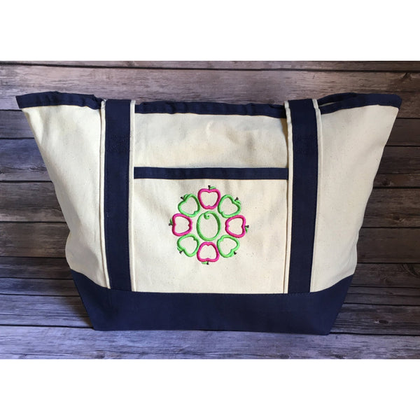 Teacher Personalized Tote Bag-AlfonsoDesigns