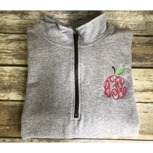 Teacher Quarter Zip Pullover Sweatshirt-AlfonsoDesigns
