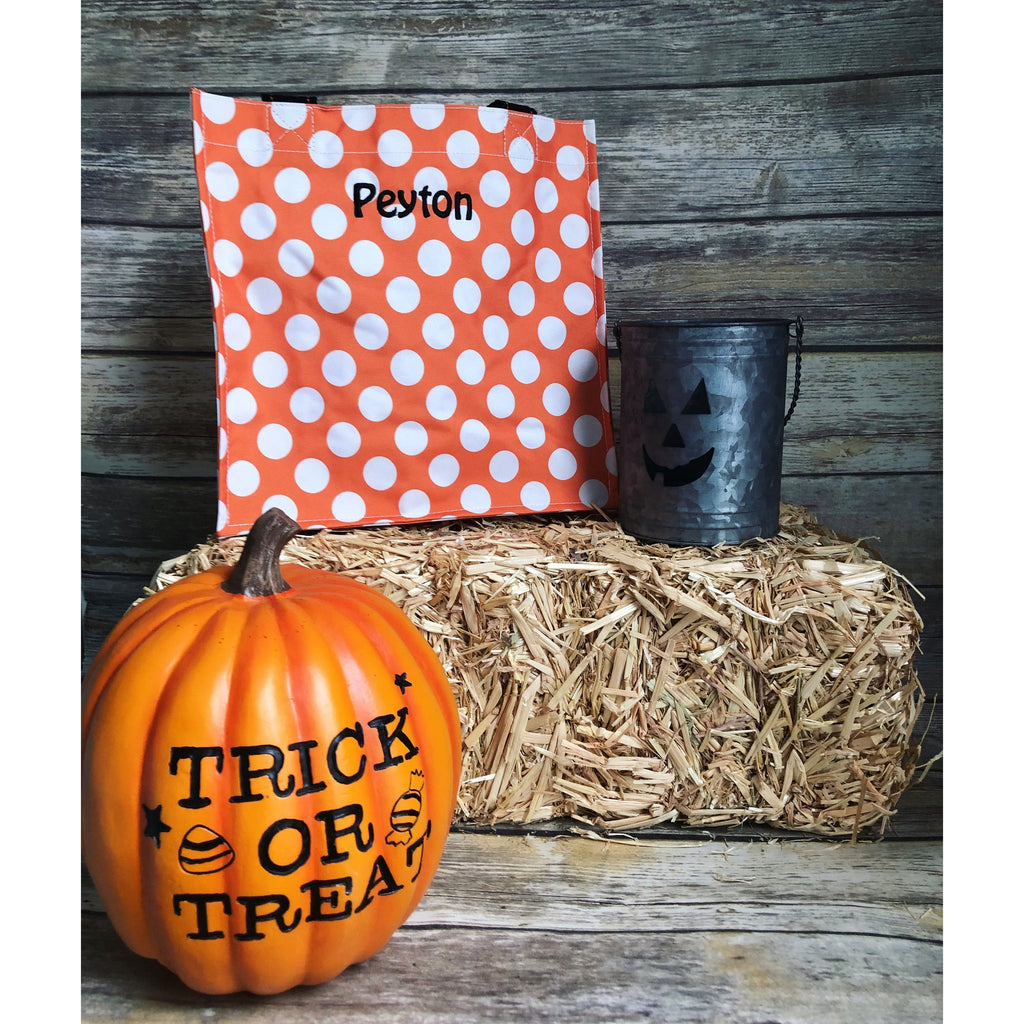 Trick or Treat Personalized Halloween Bag-AlfonsoDesigns
