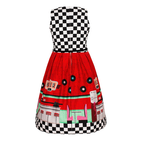 Miss Kitty Clef Skirt