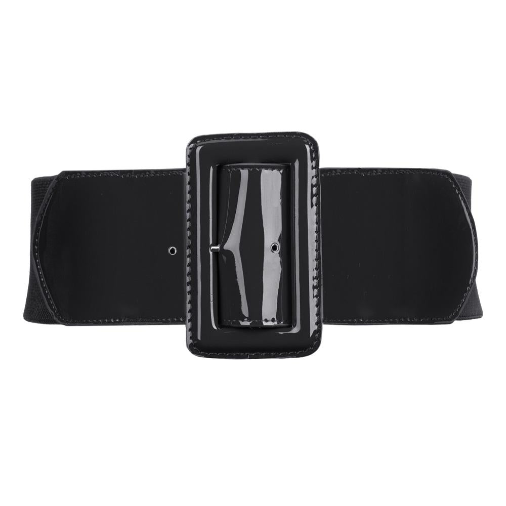 Brooklyn High Waist Belt - Black