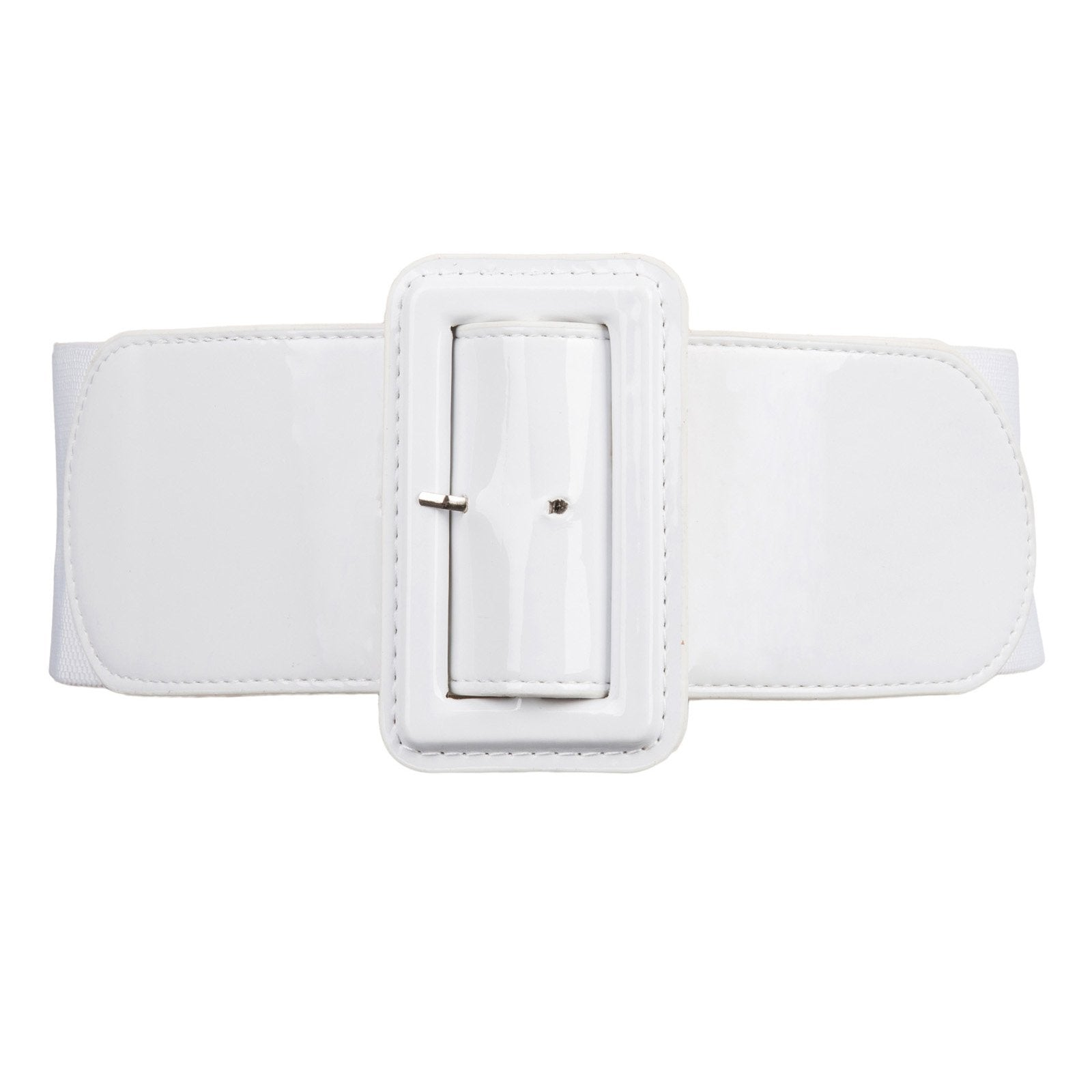 Brooklyn High Waist Belt - White