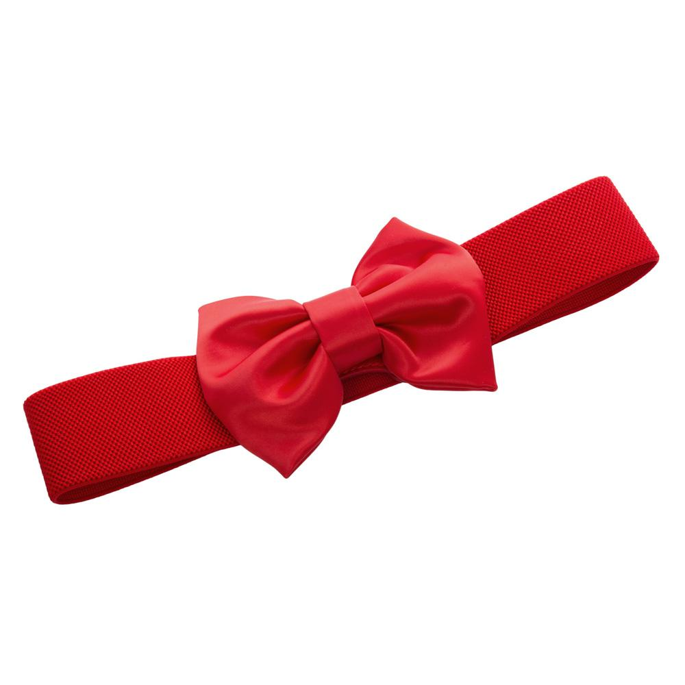 50s Bow Belt - Red