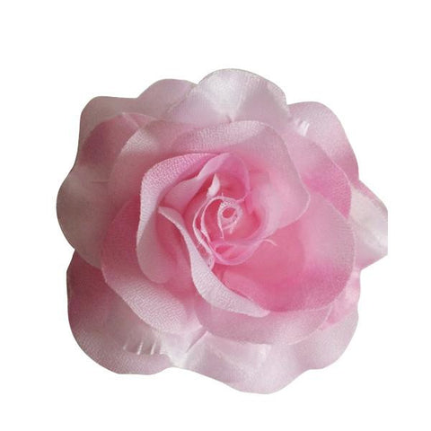 Rose Hair Clip & Brooch 11cm – Pink  Candy