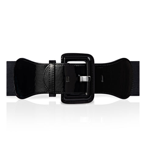 Jean 50s Stretch Belt - Black