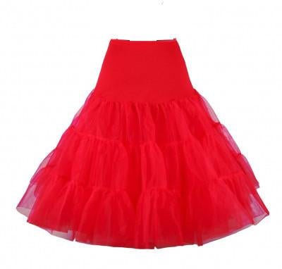 Rockabilly Petticoat Cherry Pie - Red