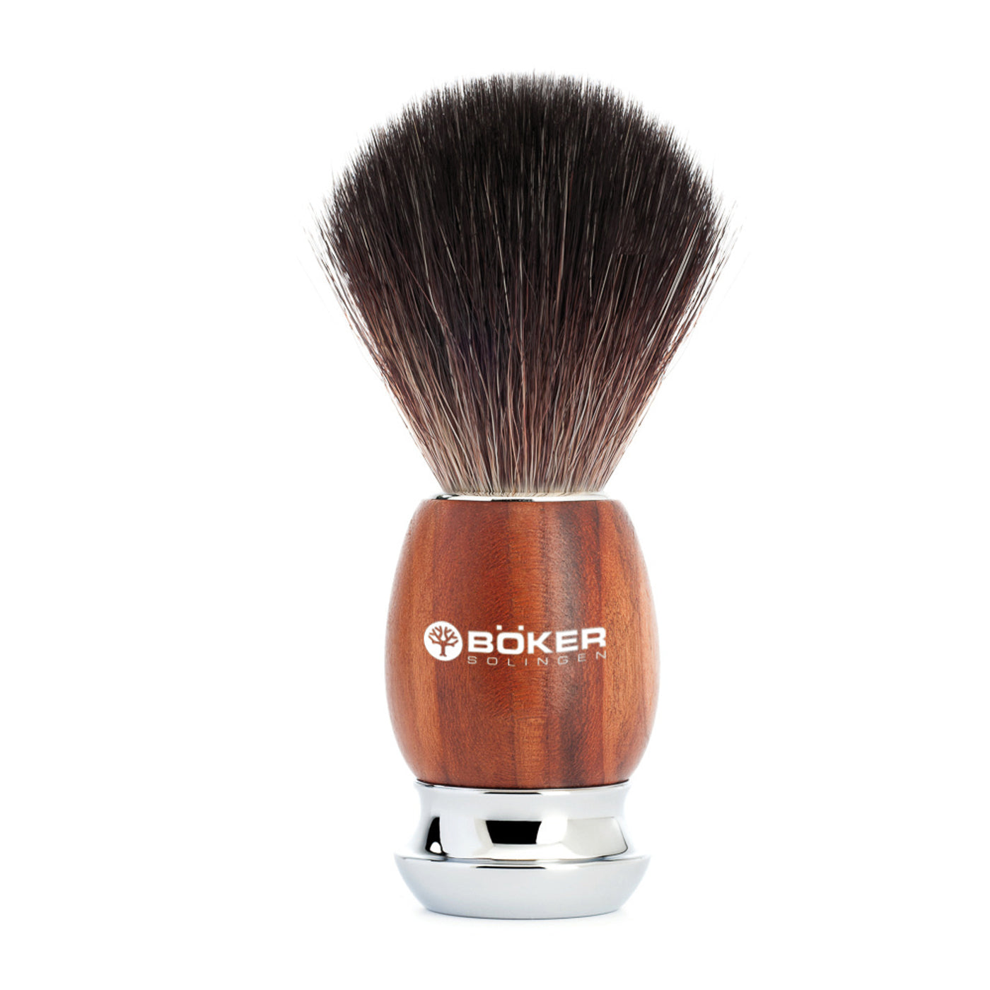 Boker Synthetic Classic Plum Wood Shaving Brush