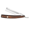 "Boker The Celebrated Wenge Wood Square Point 6/8"" Carbon Steel Straight Razor"