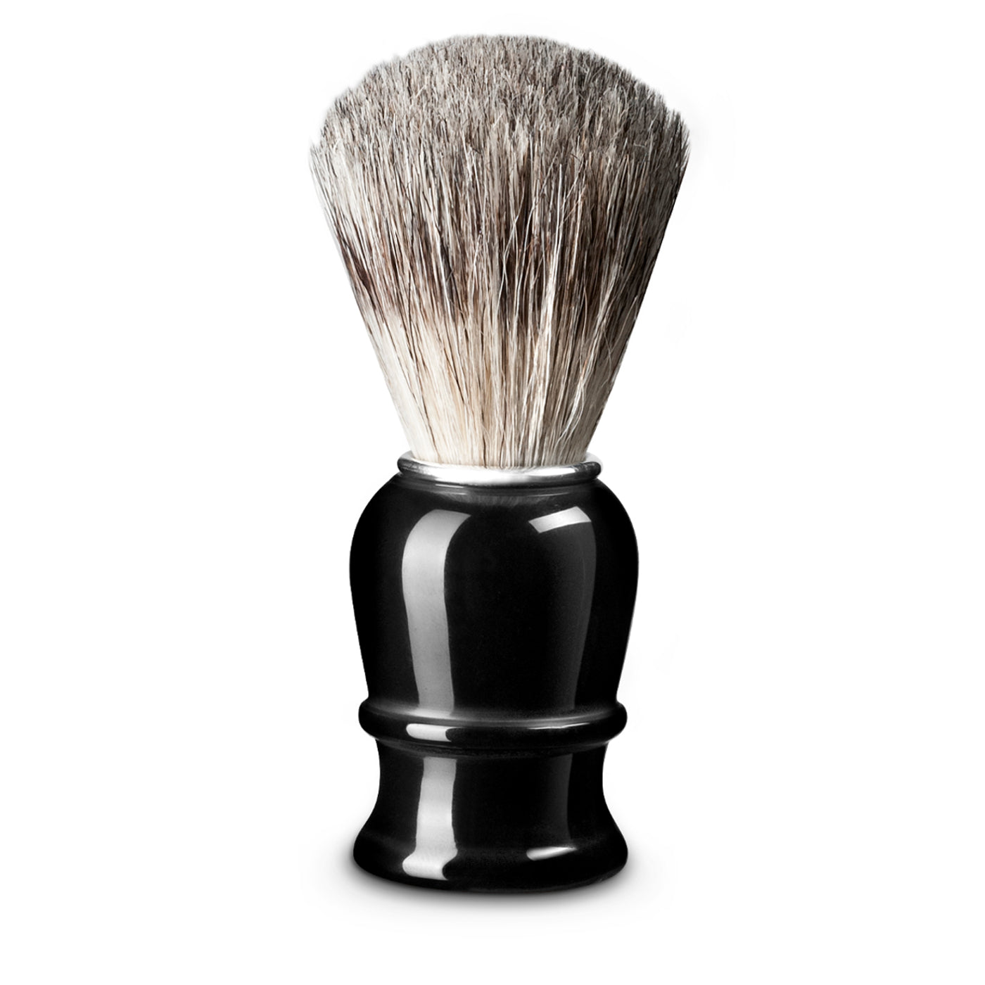 Thiers Issard Black Plastic Pure Badger 21mm Shaving Brush