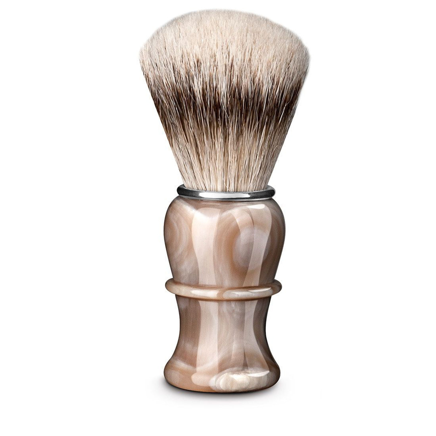 Thiers Issard Blonde Horn Silvertip Badger 26mm Shaving Brush