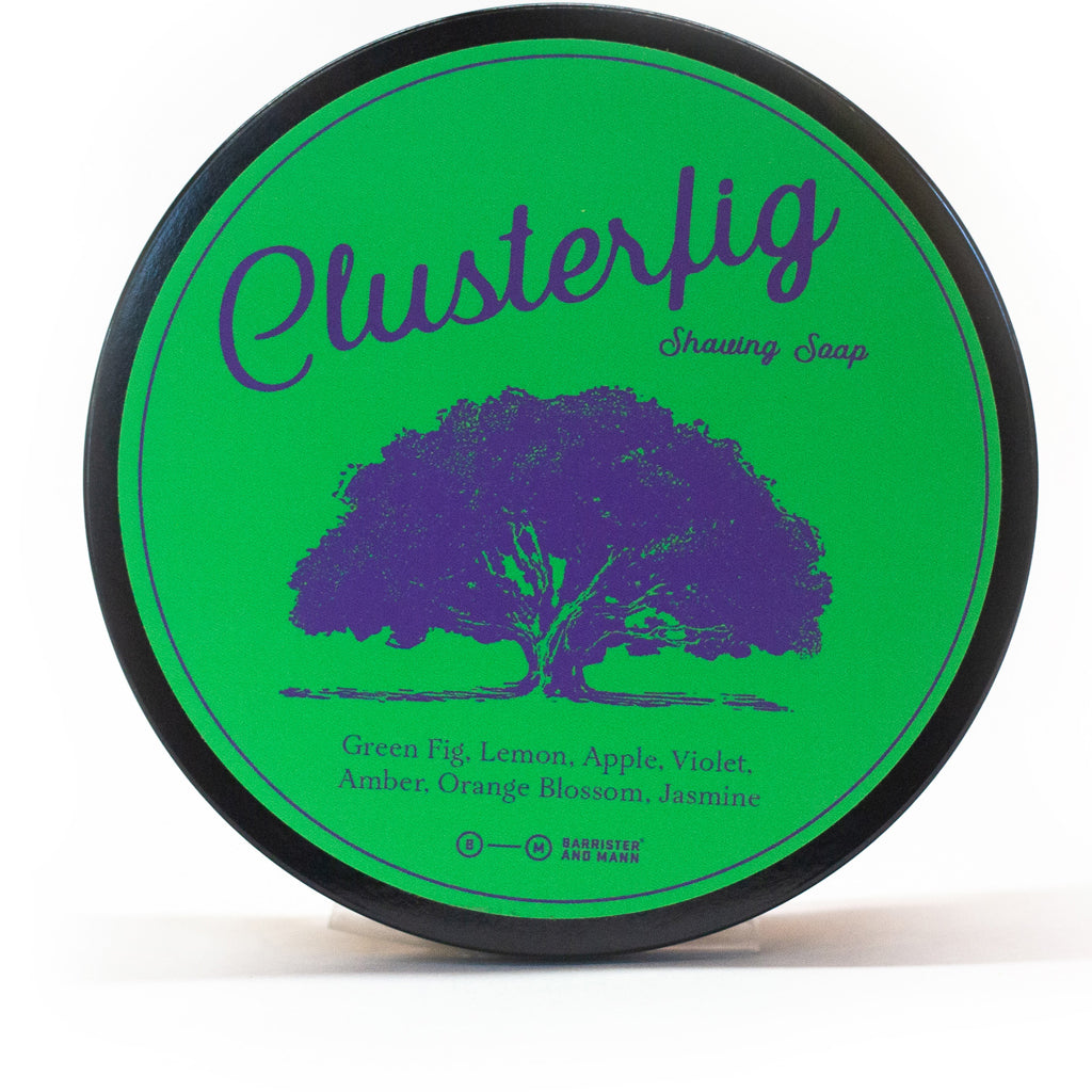 Barrister and Mann Clusterfig Shaving Soap