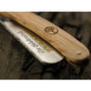 Boker The Celebrated Olive Wood Handle Straight Razor