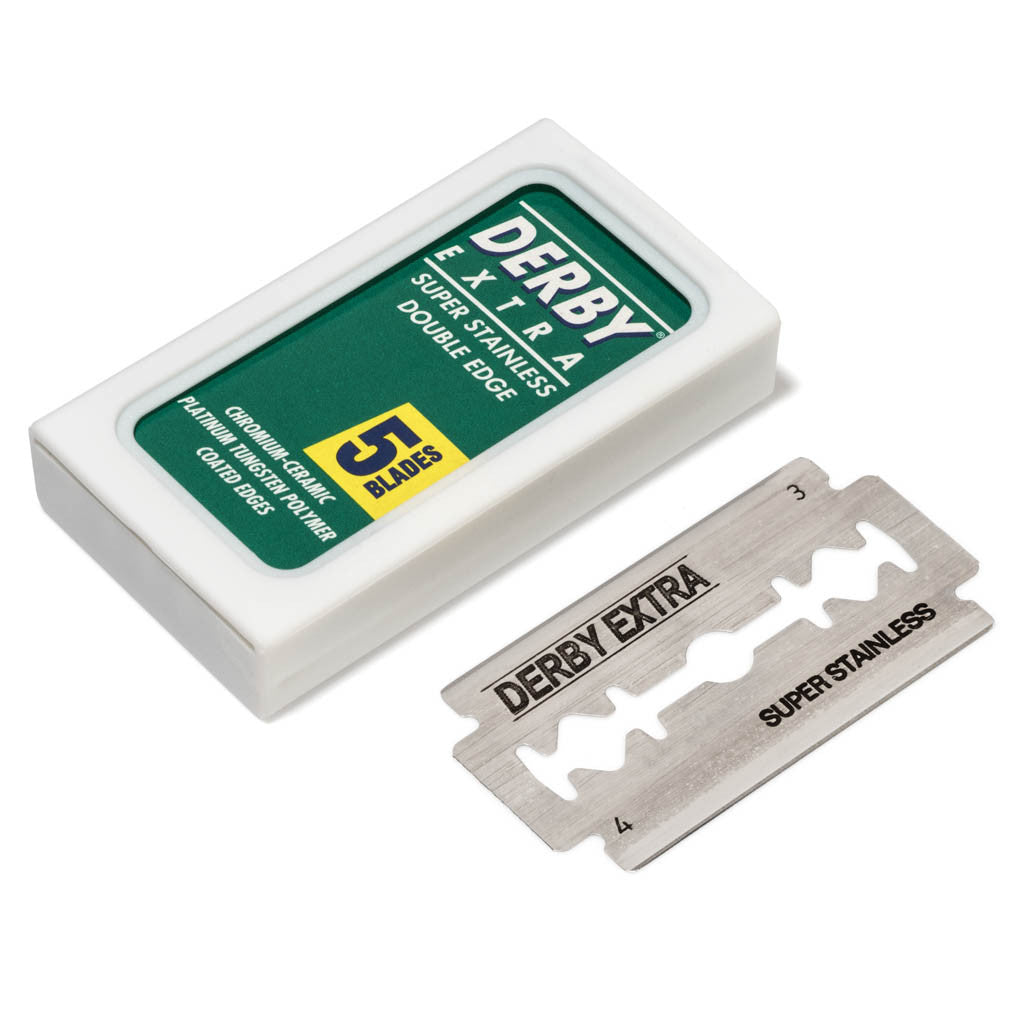 derby extra double edge safety razor blade 100 pack grown man shave derby extra double edge safety razor blade 100 pack grown man shave