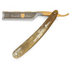 Dovo Bergischer Lowe Buffalo Horn Handle Straight Razor, Full Hollow Ground Carbon Steel Blade