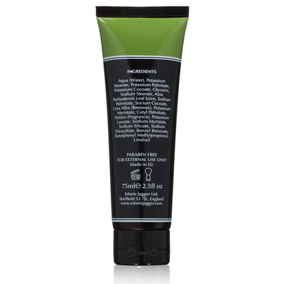 Edwin Jagger Aloe Vera Shaving Cream Tube 2.5 Fluid Ounces