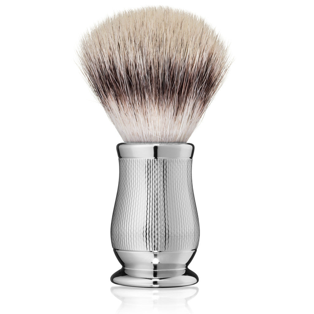 Edwin Jagger Chatsworth Barley Synthetic Silvertip Shaving Brush